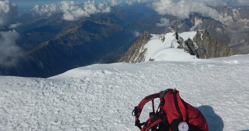 Au sommet du mont Blanc !