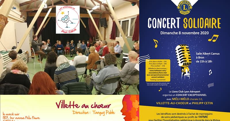 À la répétition de Villette-au-Chœur !